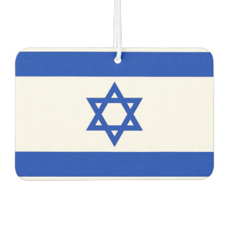 Car Air Fresheners with Flag of Israel