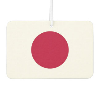 Car Air Fresheners with Flag of Japan