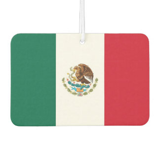 Car Air Fresheners with Flag of Mexico