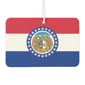 Car Air Fresheners with Flag of Missouri, USA