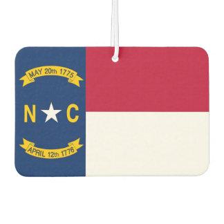 Car Air Fresheners with Flag of North Carolina