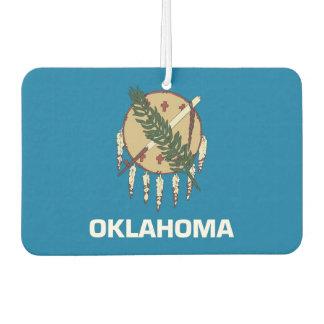 Car Air Fresheners with Flag of Oklahoma