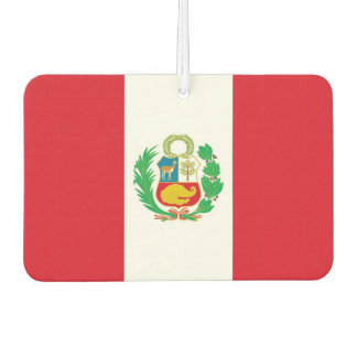 Car Air Fresheners with Flag of Peru