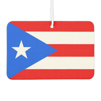 Car Air Fresheners with Flag of Puerto Rico