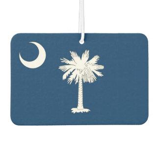 Car Air Fresheners with Flag of South Carolina