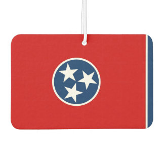 Car Air Fresheners with Flag of Tennessee