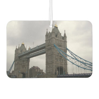 Car Air Fresheners with London Bridge