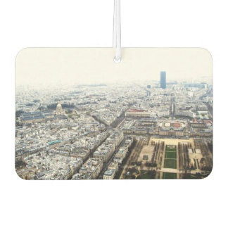 Car Air Fresheners with panorama of Paris