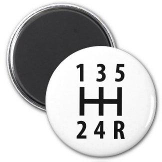 car auto gear shift 5 magnet