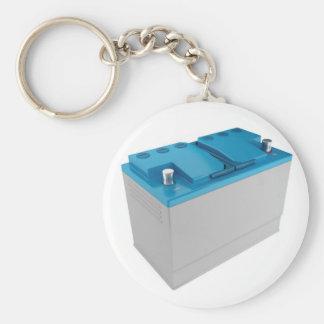 Car battery keychain