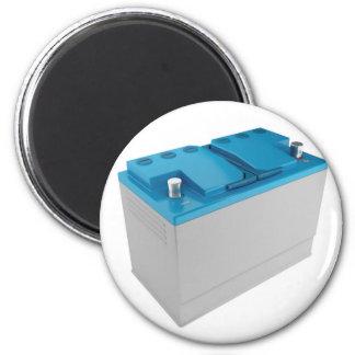 Car battery magnet