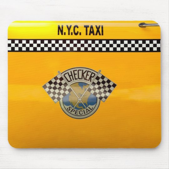 Car - City - NYC Taxi Mouse Pad