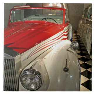 Car collection in The Liberace Foundation and Tile