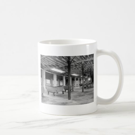 Car Company Factory, 1920s Coffee Mug