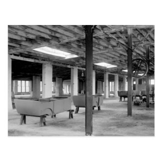 Car Company Factory, 1920s Postcard