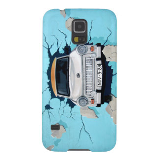 Car crosses a wall galaxy s5 covers