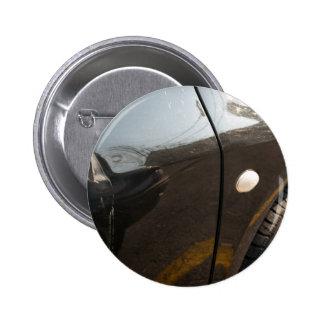 Car damage pinback button
