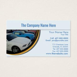 Car Dealership-Auto Sales Associate Business Card