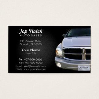 Car Dealership Auto Sales Business Card