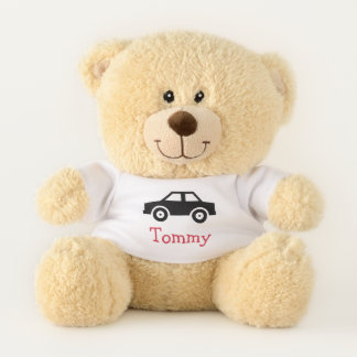 Car Design Teddy Bear