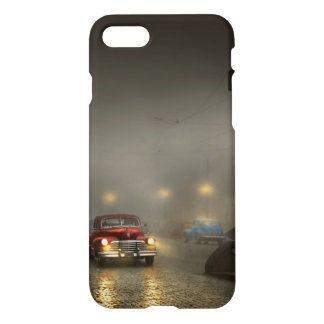 Car - Down a lonely road 1940 iPhone 8/7 Case