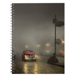 Car - Down a lonely road 1940 Notebooks
