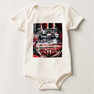 Car Engine Baby Bodysuit