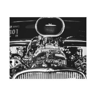Car Engine Canvas Print