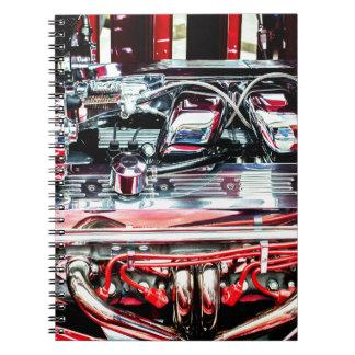 Car Engine Notebook