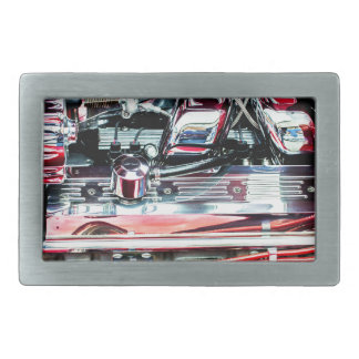 Car Engine Rectangular Belt Buckles