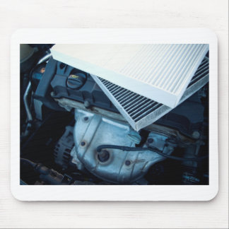 Car filters mouse pad