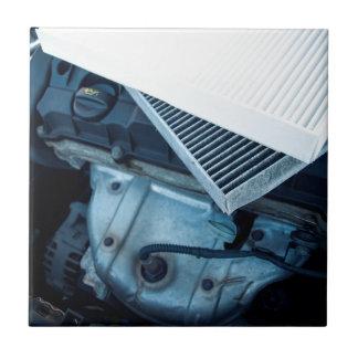 Car filters tile