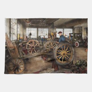 Car - Garage - Blue collar work 1923 Kitchen Towels