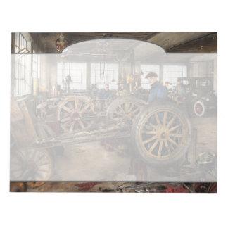 Car - Garage - Blue collar work 1923 Notepad