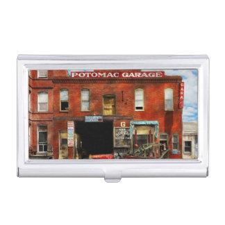 Car - Garage - Misfit Garage 1922 Case For Business Cards