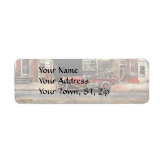 Car - Garage - Misfit Garage 1922 Return Address Label