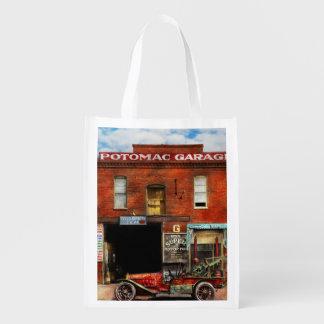 Car - Garage - Misfit Garage 1922 Reusable Grocery Bag