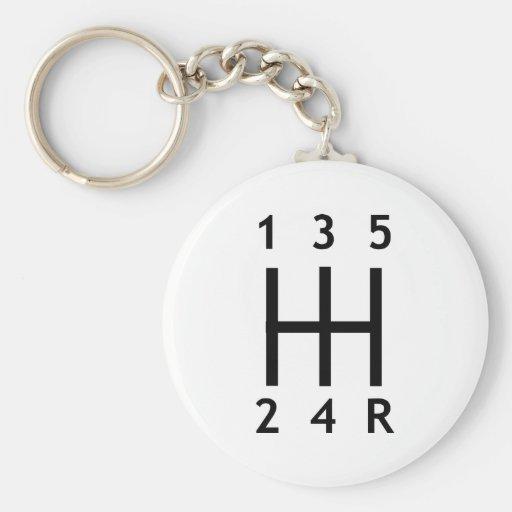 Car - Gearshift Keychains