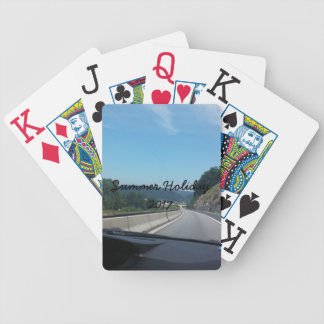 Car Holiday Mountains Europe Austria Photography Bicycle Playing Cards