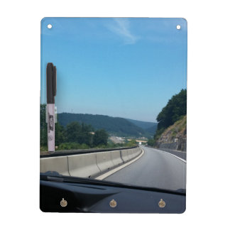 Car Holiday Mountains Europe Austria Photography Dry Erase Board