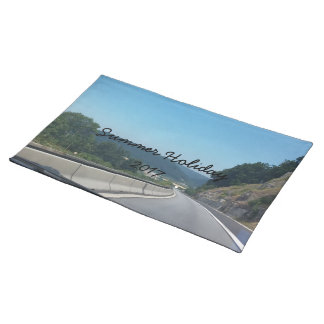 Car Holiday Mountains Europe Austria Photography Placemat