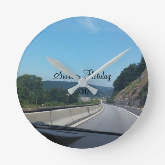 Car Holiday Mountains Europe Austria Photography Round Clock