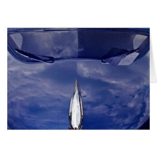 Car hood reflection invitations