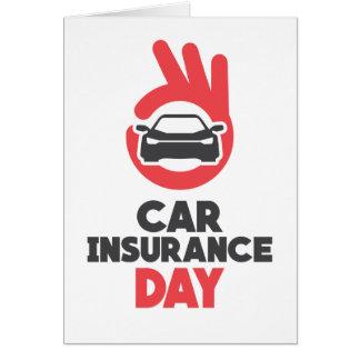 Car Insurance Day - Appreciation Day Card