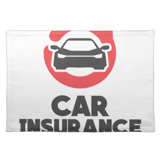 Car Insurance Day - Appreciation Day Placemat