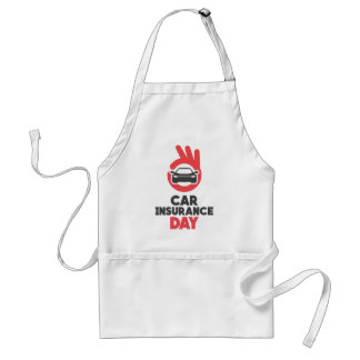 Car Insurance Day - Appreciation Day Standard Apron