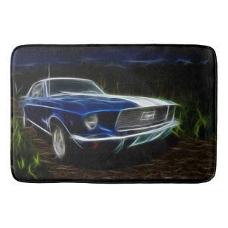 Car lighting bath mat