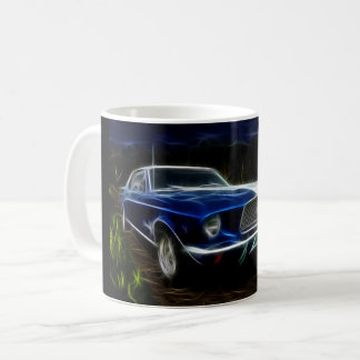 Car lighting coffee mug