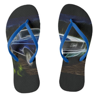 Car lighting flip flops