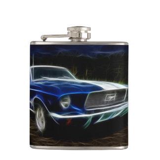 Car lighting hip flask